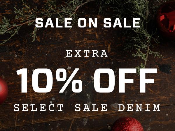 Extra 10% Off Select Denim