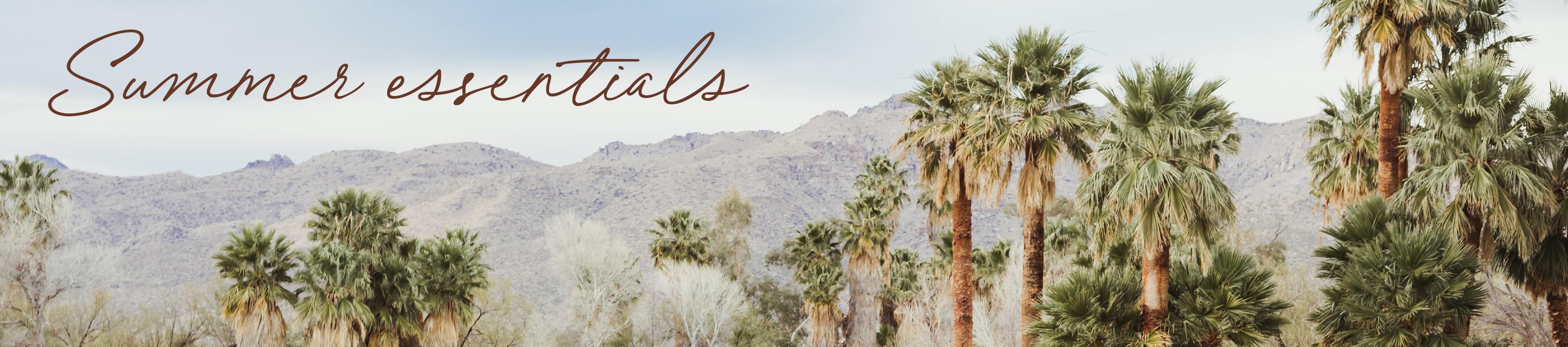 Summer Essentials - Desert Background