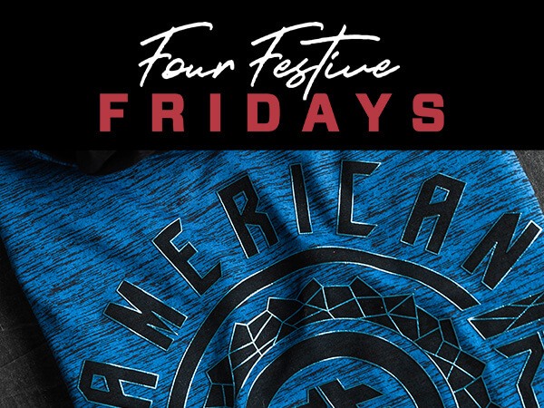 Four Festive Fridays - American Fighter Gift with Purchase