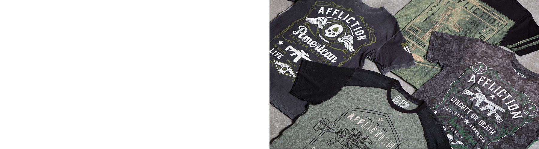 Affliction Freedom Defender Banner