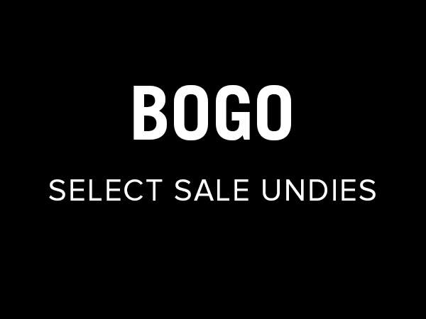 Buy One Get One Free, Select Women's Undies
