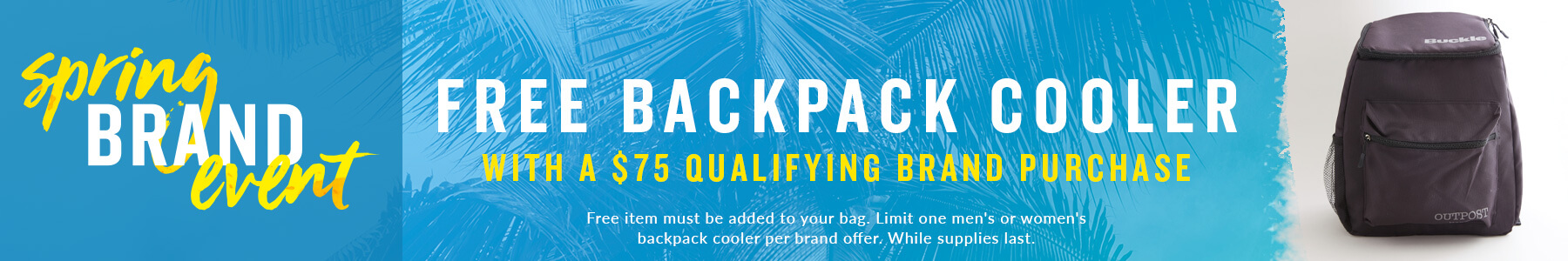 Shop Buckle's Outpost Brand Event Qualifying Items