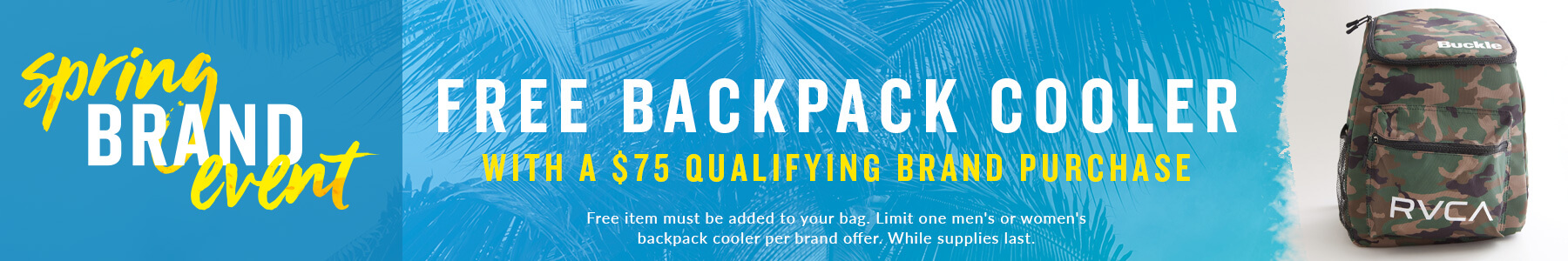 Shop Buckle's RVCA Brand Event Qualifying Items