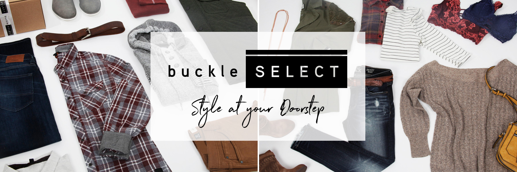 Buckle Select Pictures of Buckle Outfits Banner