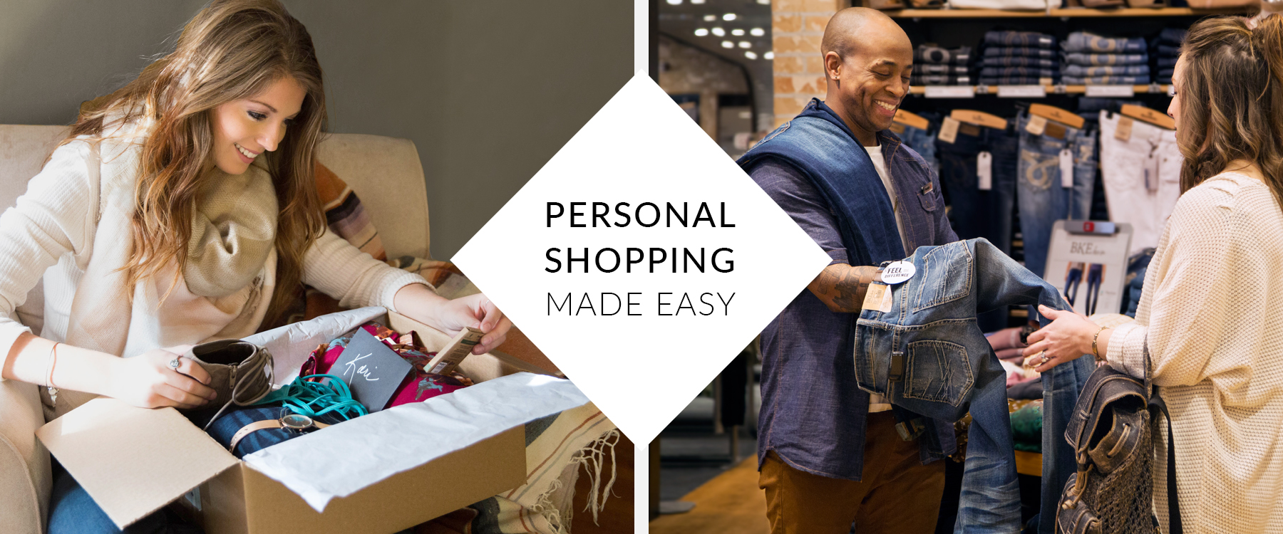 Personal Shopping Made Easy Banner