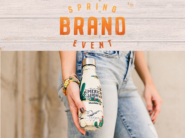 American Highway Spring Brand Event Travel Water Bottle