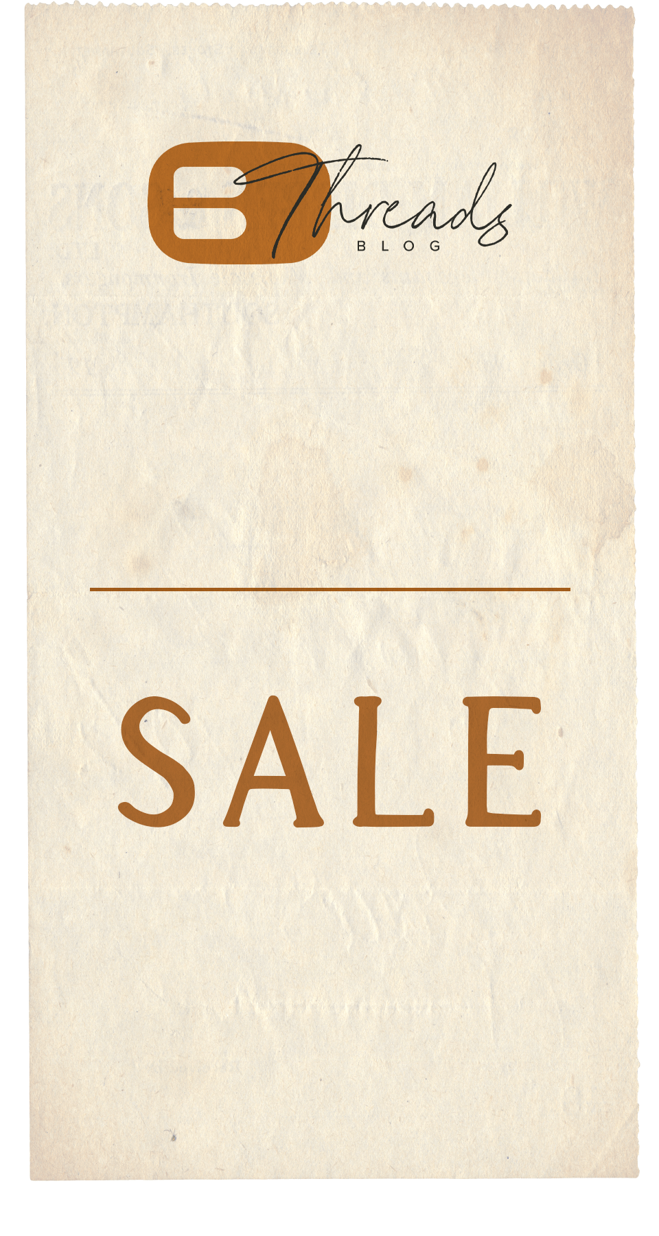 Sale and Buckle Threads