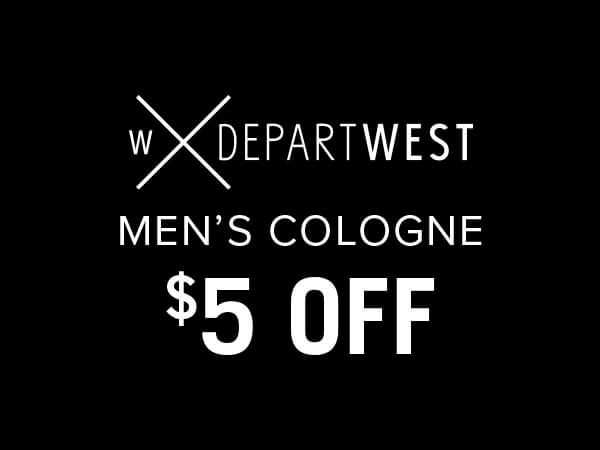 Departwest Men's Cologne $5 Off
