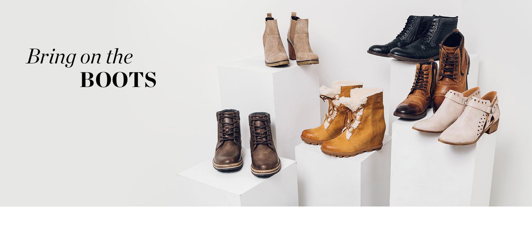 Bring on the Boots - 6 pairs of Men's and Women's boots