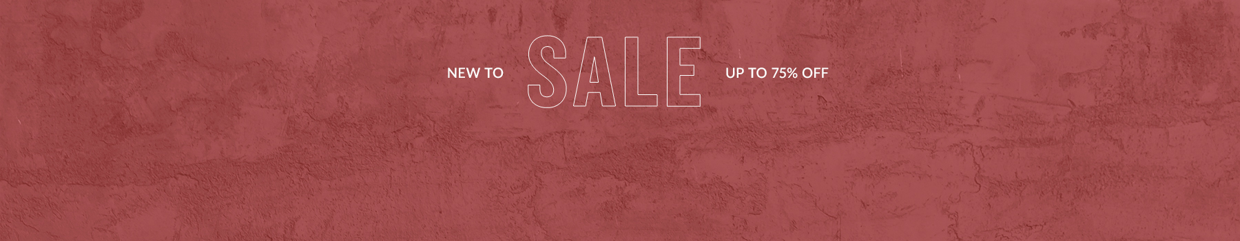 New to sale up to 50% off