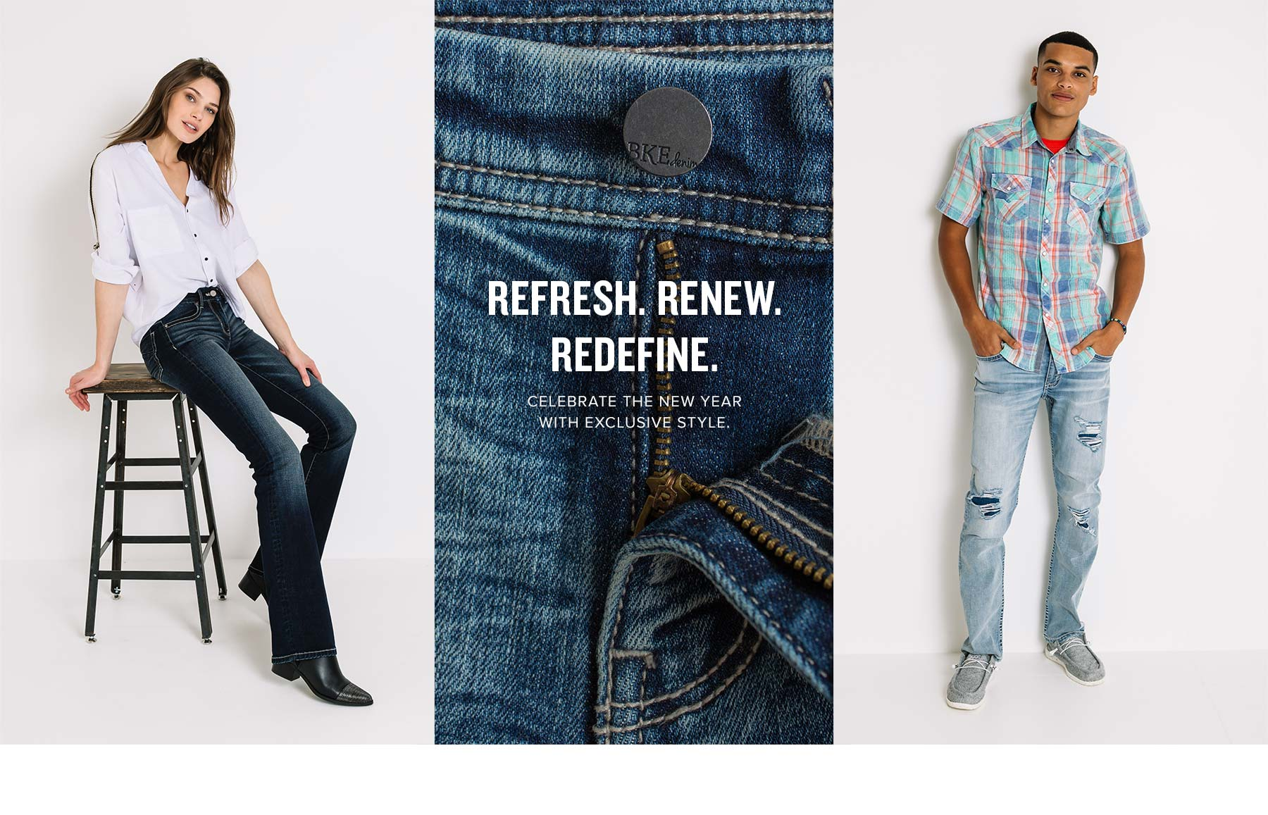 Refresh. Renew. Redefine. Celebrate the new year with exclusive style.