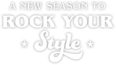 A new season to rock your style. Shop new arrivals.