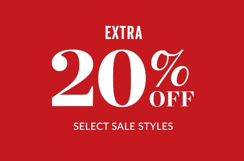 Shop Extra 20% Select Sale Styles