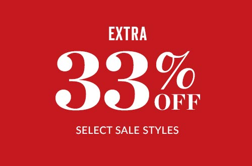 Shop Extra 33% Off Select Sale Styles