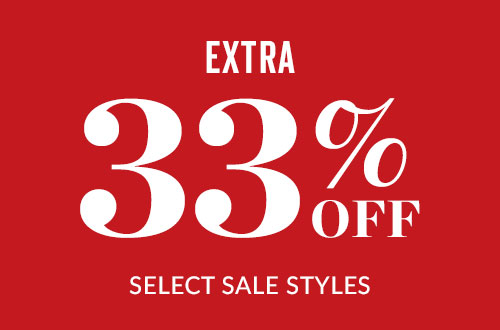 Extra 33% off select sale styles