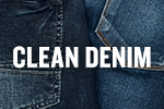 Clean denim