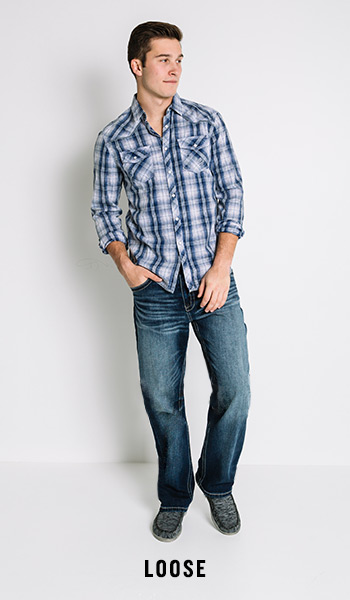 Men's Loose Fit Jeans