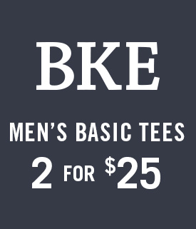 BKE - Men's Basic Tees - 2 for $25