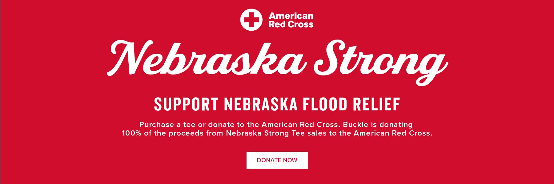 Nebraska Strong Support Nebraska Flood Relief - Donate Now