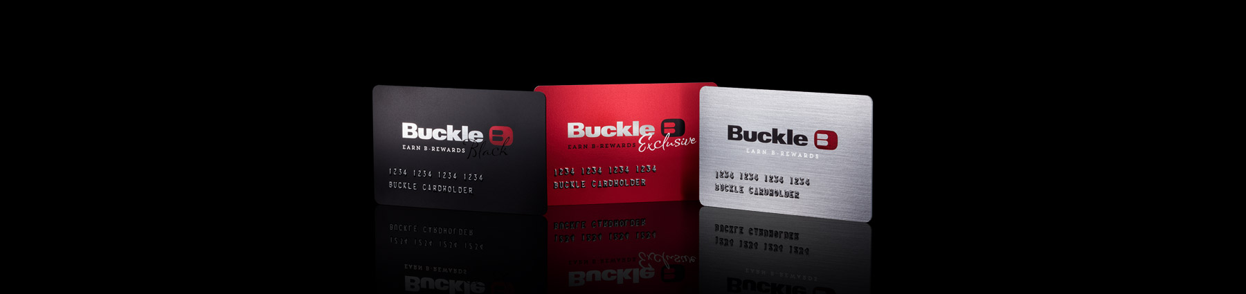 Buckle Credit Card Banner