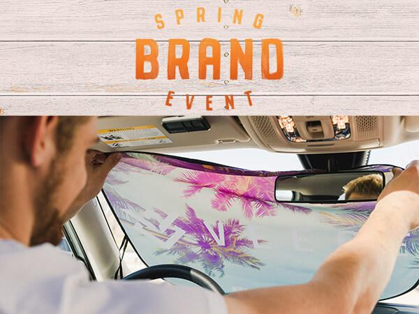 Veece Spring Brand Event Car Visor