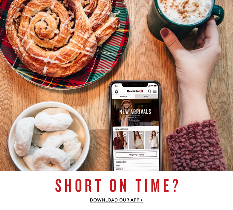 Short On Time - Download Our App