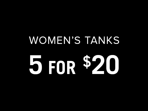 Women's tanks 5 for $20